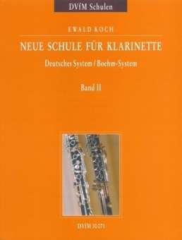 Ewald Koch Neue Schule für Klarinette Band 2