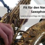 Fit für den Neustart Saxophon!