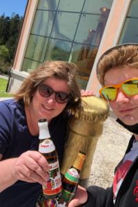 Alex und Luki Rothaus Brauerei