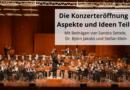 Die Konzerteröffnung – Aspekte und Ideen Teil 1
