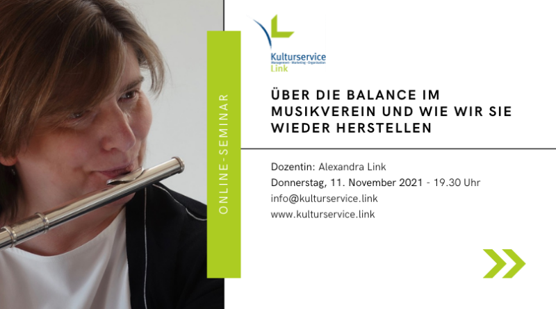 Online-Seminar Balance Eventbrite