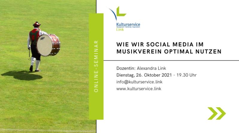 Online-Seminar Social Media Evenbrite
