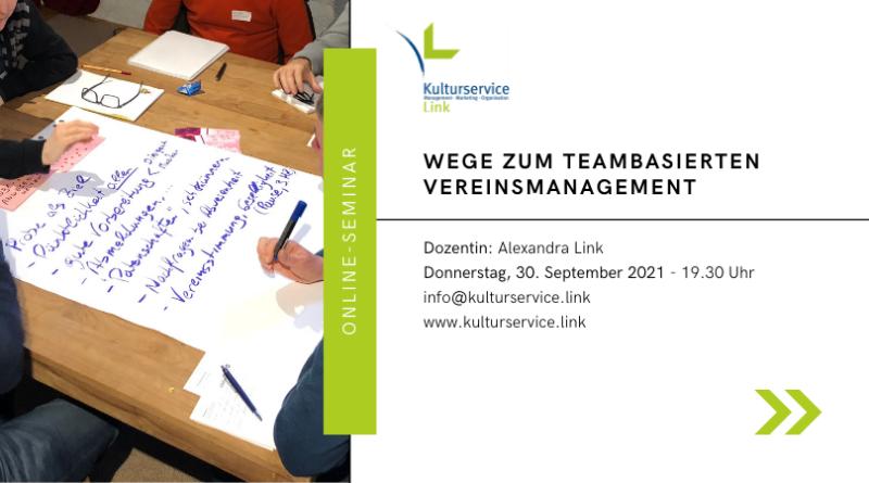 Online-Seminar Teambasiert Eventbrite 30.9.
