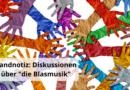 """Randnotiz: Diskussionen über """"die Blasmusik"""""""