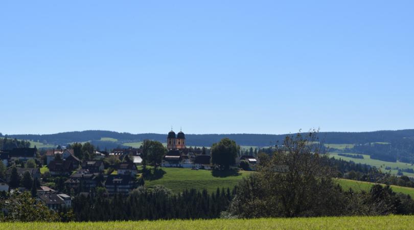 Der Schwarzwald bei St. Märgen