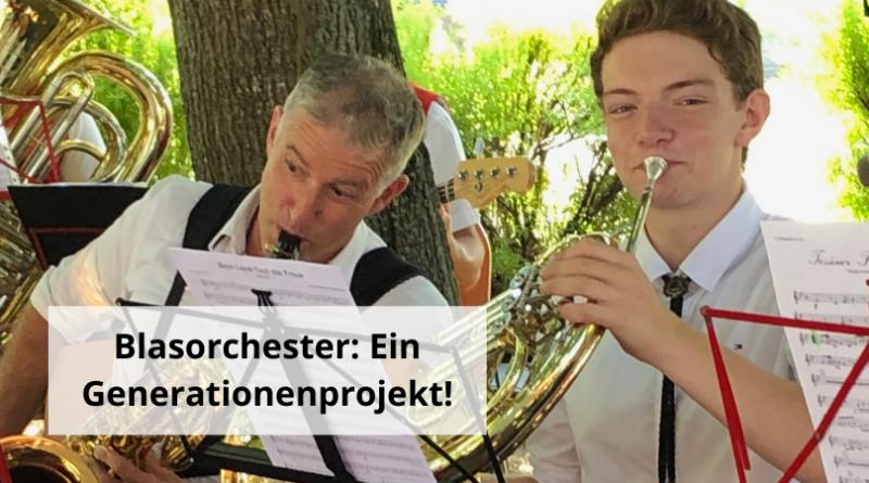 Generationenprojekt Blasorchester