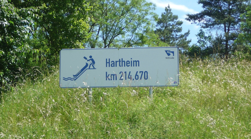Hartheim Rheinkilometer 214,670